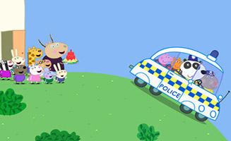 Peppa Pig S07E08 Police Car