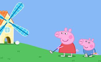 Peppa Pig S07E12 Playing Golf