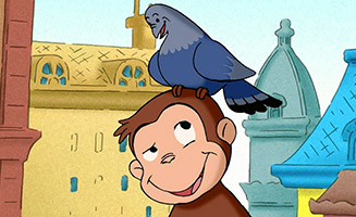 Curious George S01E02 Home for Pigeons / Out of Order
