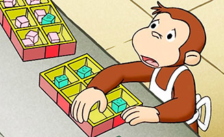 Curious George S01E18 Candy Counter / Rescue Monkey