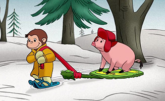 Curious George S01E23 Ski Monkey / George the Grocer