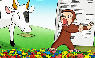 Curious George S01E24 Keep Out Cows / George and the Missing Piece