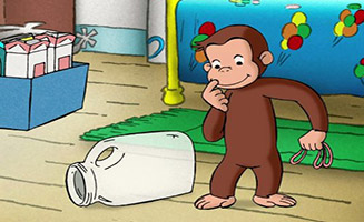 Curious George S01E27 The All Animal Recycled Band / The Times of Sand