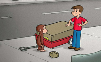 Curious George S01E29 Fixes Betsys Wagon / Takes a Dive
