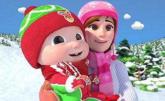 Hide and Go Seek in the Snow Jingle Bells