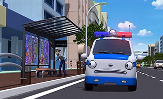 Tayo the Little Bus S02E02 The Perfect duo Rookie and Pat