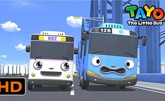 Tayo the Little Bus S02E07 Nana Visits the City