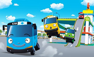 Tayo the Little Bus S02E11 Rogis Special Guest
