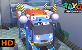 Tayo the Little Bus S02E17 Tayos Space Adventure Part 1