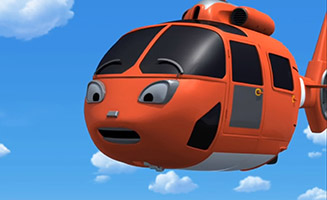 Tayo the Little Bus S02E21 Air the Brave Helicopter