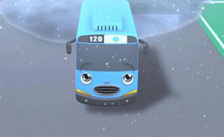 Tayo the Little Bus S02E25 Tayos First Snow Day
