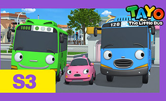 Tayo the Little Bus S03E01 The new friend Heart