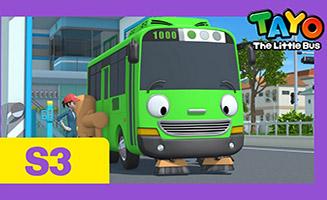 Tayo the Little Bus S03E03 Rogi the Sweeper