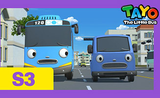 Tayo the Little Bus S03E07 A weekend with Cito