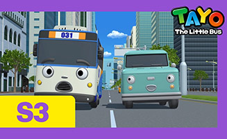 Tayo the Little Bus S03E13 Cooku and Champs trip to the city