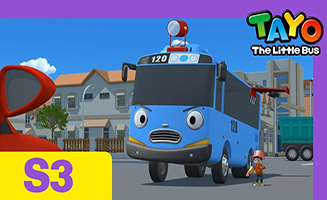 Tayo the Little Bus S03E16 City heroes Tayo and Duri