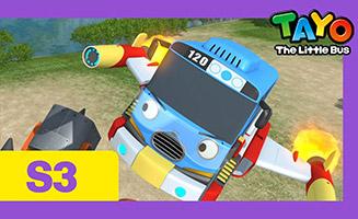 Tayo the Little Bus S03E24 Tayos Earth Defense Plan 2