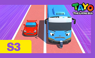 Tayo the Little Bus S03E26 Little buses sports day