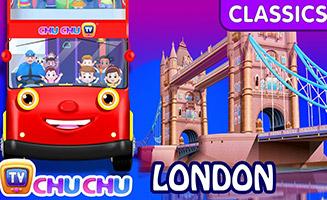 Wheels On The Bus London City