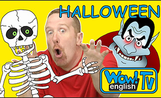 Halloween Finger Family Songs with Hide and Seek