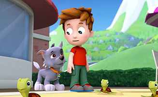 PAW Patrol S01E02 Pups Save the Sea Turtles - Pup and the Very Big Baby