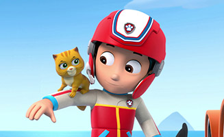 PAW Patrol S01E03 Pups and the Kitty tastrophe - Pups Save the Train