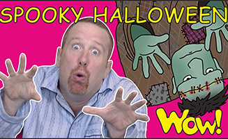 Halloween Spooky Story for Kids from Steve and Maggie