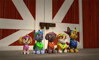 PAW Patrol S02E25 Pups Save the Woof and Roll Show