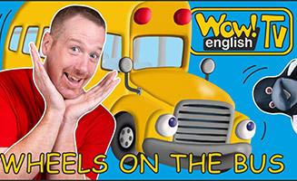 Wheels on the Bus with Animals and Steve and Maggie